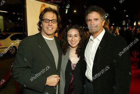 Jeffrey Godsick, Pamela Levine and Producer Charles Gordon