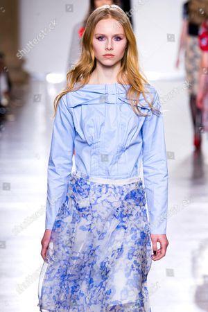 Editorial image of Michael van der Ham show, Autumn Winter 2015, London Fashion Week, Britain - 24 Feb 2015