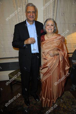 Stock Photo of Kamalesh and Babli Sharma