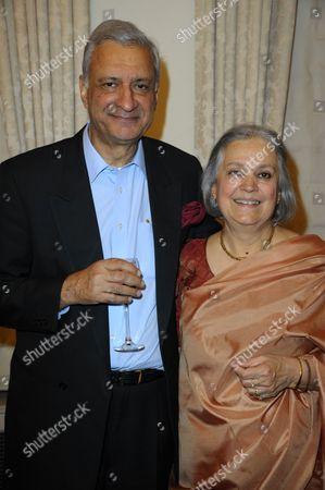 Stock Image of Kamalesh and Babli Sharma