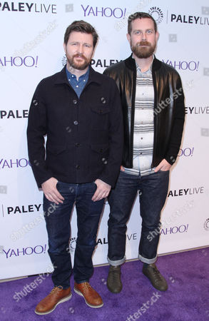Stock Picture of Andrew Haigh and Michael Lannan