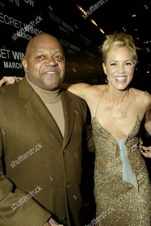 Charles Dutton and Maria Bello