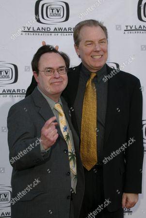 David Lander and Michael McKean