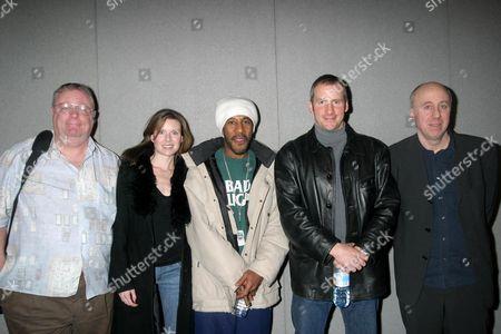 MAC MACDONALD, CHLOE ANNETT, DANNY JOHN JULES, CHRIS BARRIE AND NORMAN LOVETT