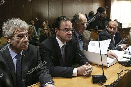 Editorial image of Former Greek Finance Minister stands trial over Lagarde List, Athens, Greece - 25 Feb 2015