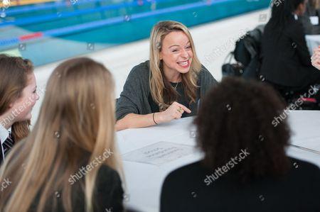 Editorial image of Inspiring Women in Sport event, Aquatics Centre, Queen Elizabeth Olympic Park, London, Britain - 25 Feb 2015