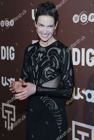 Editorial photo of 'Dig' TV series premiere, New York, America - 25 Feb 2015