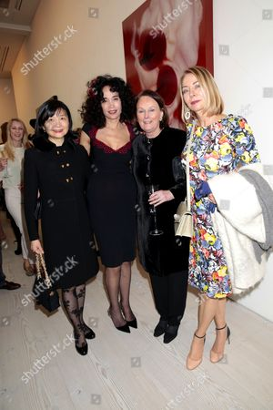 Mouna Rebeiz and guests