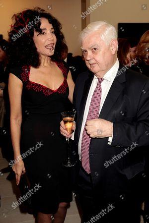 Mouna Rebeiz and Norman Lamont