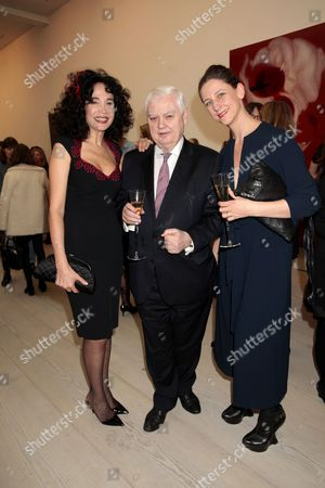 Mouna Rebeiz, Norman Lamont and Maria Grachvogel
