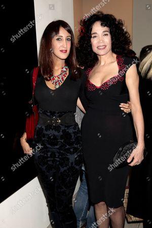 Guest and Mouna Rebeiz