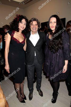 Mouna Rebeiz, guest and Elsa Godard