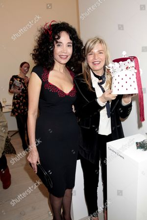 Mouna Rebeiz and Caroline Evans