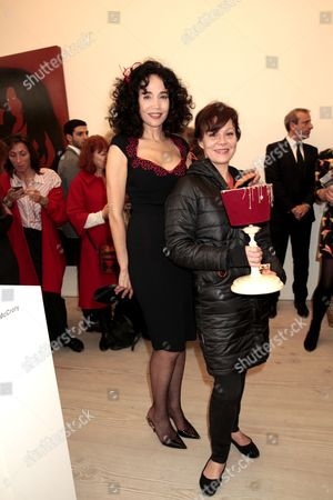 Stock Picture of Mouna Rebeiz and Helen McCrory