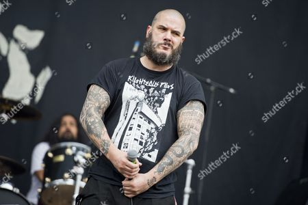 Castle Donington United Kingdom - June 15: Frontman Phil Anselmo Of American Metal Group Philip H. Anselmo And The Illegals Performing Live On The Zippo Encore Stage At Download Festival On June 15