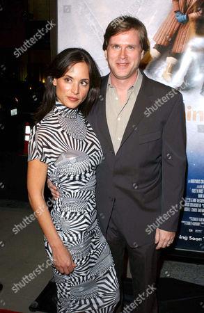 LISA MARIE KURBIKOFF AND HUSBAND CARY ELWES