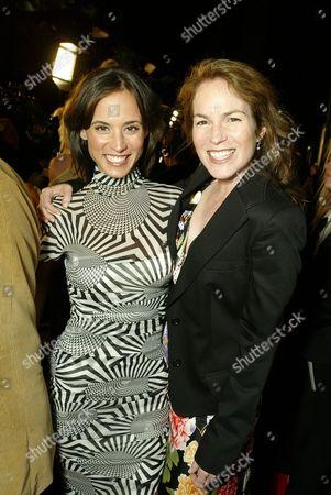 Stock Photo of Lisa Marie Kurbikoff and Gigi Levangie-Grazer