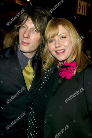 Bebe Buell and husband Jim Wallerstein