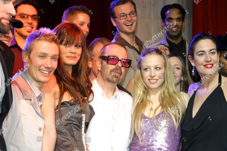 DAVE STEWART WITH NINA PROLL (C) AND CAST