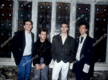 MIKE JOYCE, ANDY ROURKE, MORRISSEY AND JOHNNY MARR
