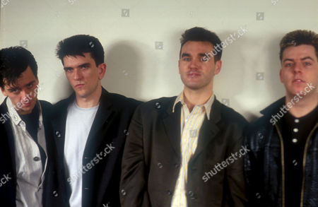 JOHNNY MARR, MIKE JOYCE, MORRISSEY AND ANDY ROURKE
