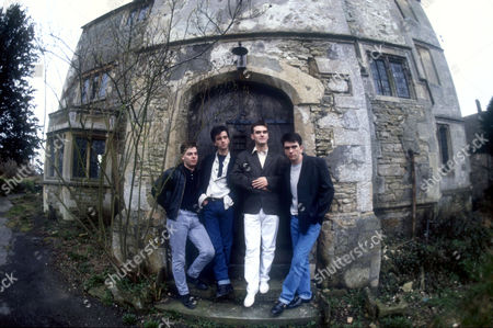 ANDY ROURKE, JOHNNY MARR, MORRISSEY AND MIKE JOYCE