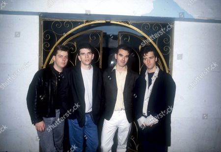 ANDY ROURKE, MIKE JOYCE, MORRISSEY AND JOHNNY MARR