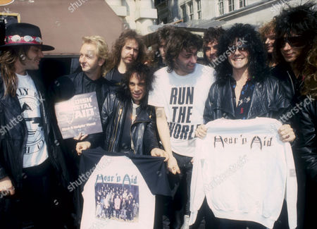 Editorial image of VARIOUS LIVE AID EVENTS