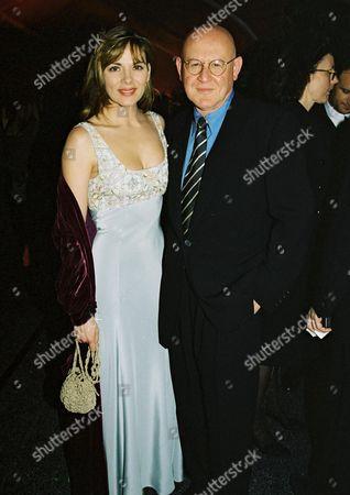 Kim Cattrall and Daniel Benzali at the Miramax Oscar party