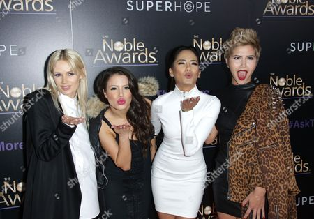 Stock Picture of Lauren Bennett, Emmalyn Estrada, Natasha Slayton and Paula Van O