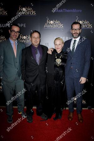 Patricia Arquette, Richmond Arquette and Eric White
