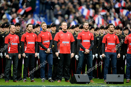 Stock Picture of Only Men Aloud.