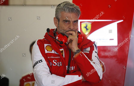 Marco Mattiacci, Ferrari director, on the tests of Formula 1, held at the Circuit de Catalunya.