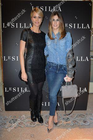 Elena Santarelli and Melissa Satta
