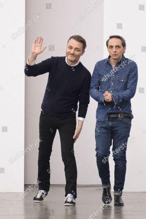 Stock Picture of Tommaso Aquilano and Roberto Rimondi