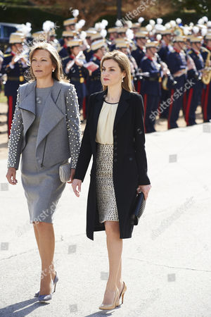 Maria Clemencia Rodriguez de Santos and Queen Letizia