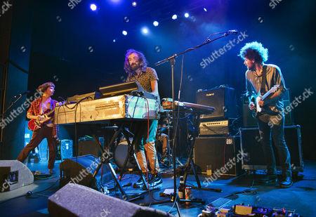 Nick Allbrook, Jay Watson, Jamie Terry and Joseph Ryan - Australian rock band Pond