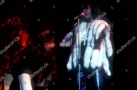 Stock Picture of CHIC - NILE RODGERS AND ALFA ANDERSON