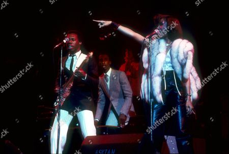 Stock Photo of CHIC - NILE RODGERS AND ALFA ANDERSON