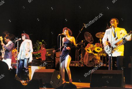 Editorial image of CHIC PERFORMING AT HAMMERSMITH ODEON, LONDON, BRITAIN - JAN 1979