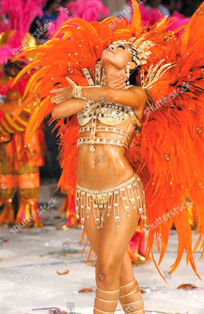 Juliana Paes, from Viradouro Rio School of Samba - 23 Feb