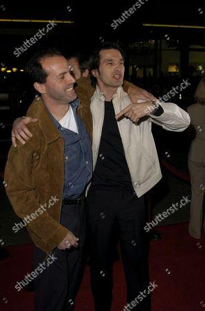 DJ Caruso and Olivier Martinez