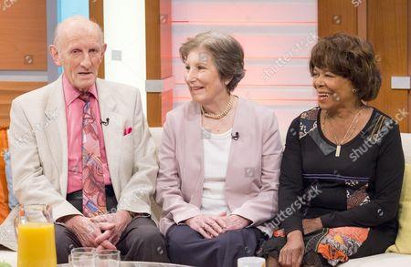 Stock Photo of Seb Craig, Rosemary MacVie and Joan Hooley