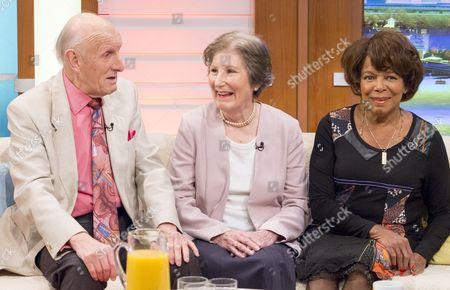 Seb Craig, Rosemary MacVie and Joan Hooley
