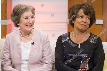 Rosemary MacVie and Joan Hooley