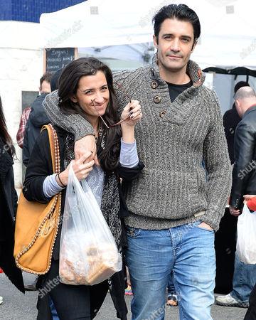 Gilles Marini and wife Carole Marini