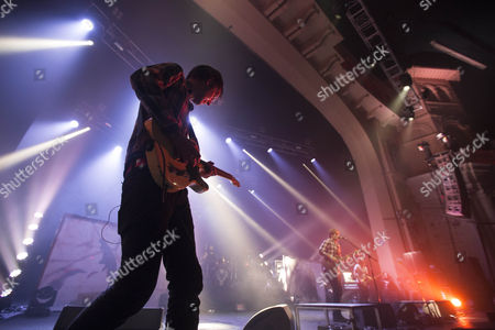 Editorial photo of Fightstar in concert at O2 Brixton Academy, Brixton, London, Britain - 27 Feb 2015