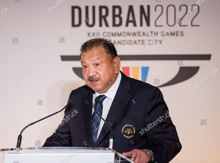 HRH Prince Imran, Chair of the Commonwealth Games Federation