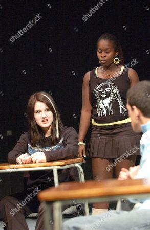 L-R: Rachel Harvey, Petra Letang and Josef Altin