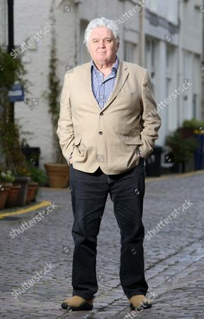 Interview With Charles Baillie - Father Of Georgina Granddaughter Of Andrew Sachs. Charles Is Pictured Near His Kensington Home.
